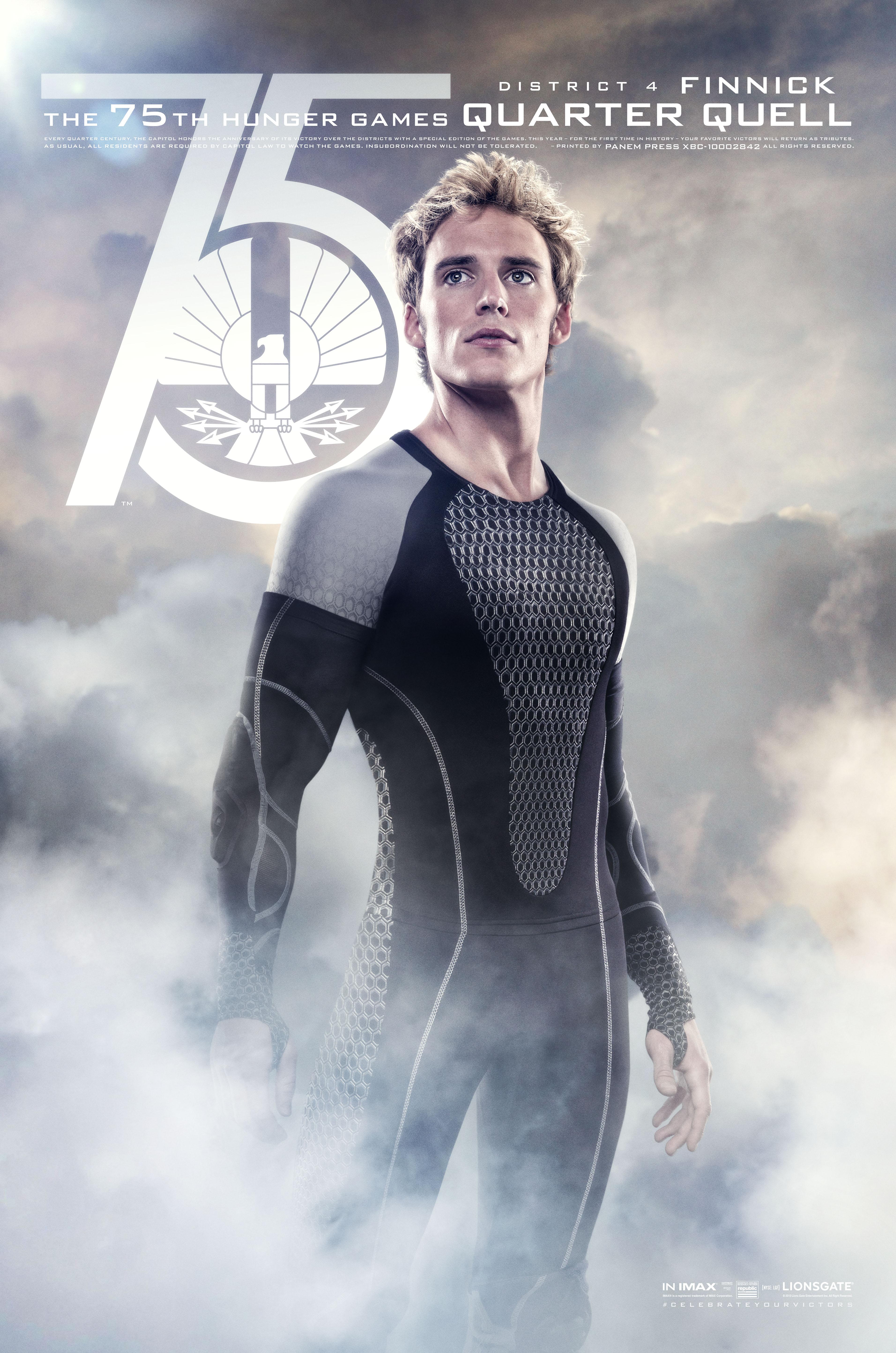 Hunger Games Quarter Quell Poster Finnick