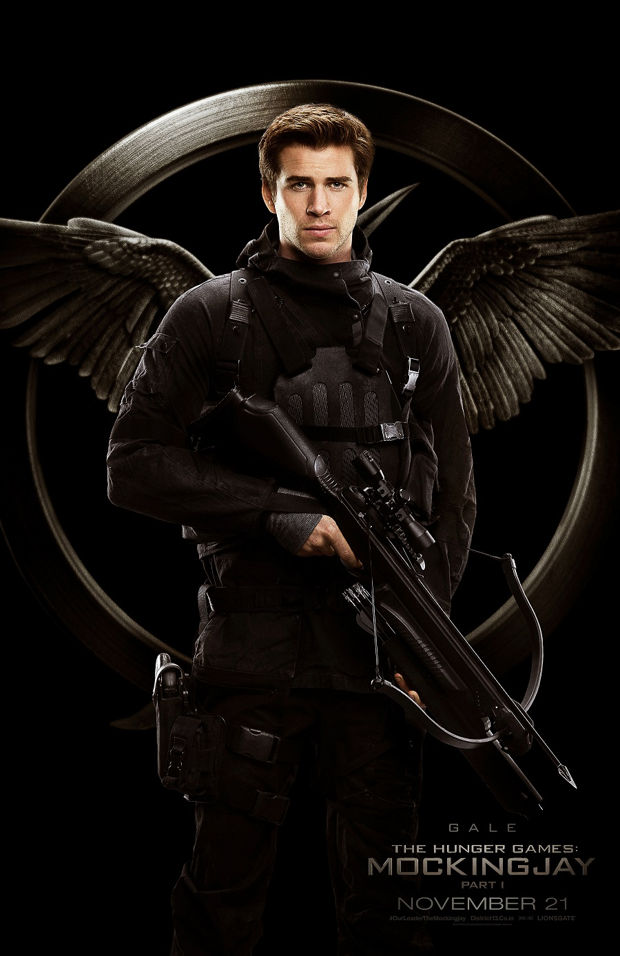 Hunger Games-Mockingjay Pt. 1 Gale