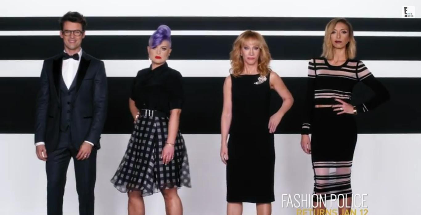 Fashion Police Kathy Griffin promo