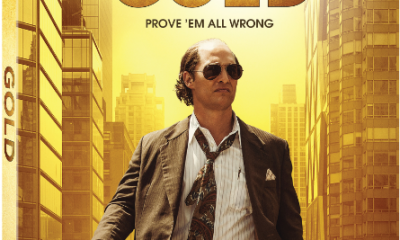 Matthew McConaughey Gold Blu-ray