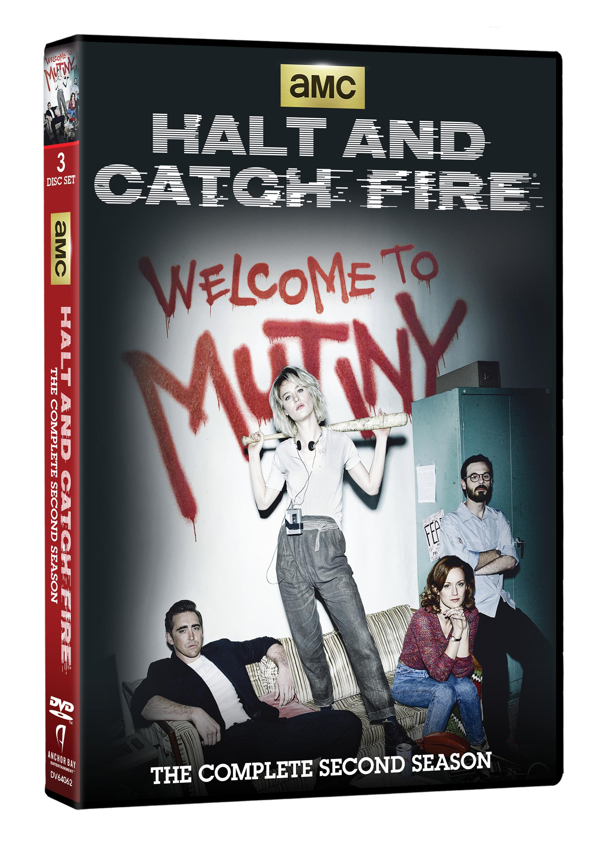 Halt & Catch Fire S2 DVD Cover