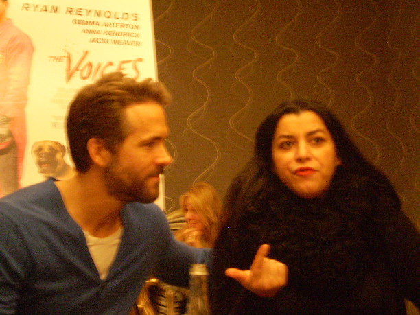 Interview: Ryan Reynolds and Marjane Satrapi Talk The Voices