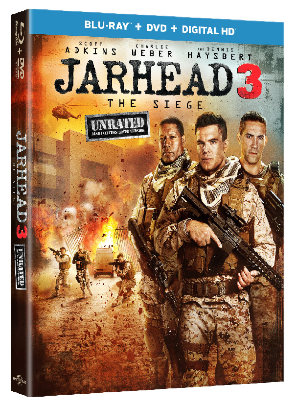 Jarhead 3: The Siege Blu-ray + Digital HD Giveaway Offers Look at Life in a Contemporary Combat Zone