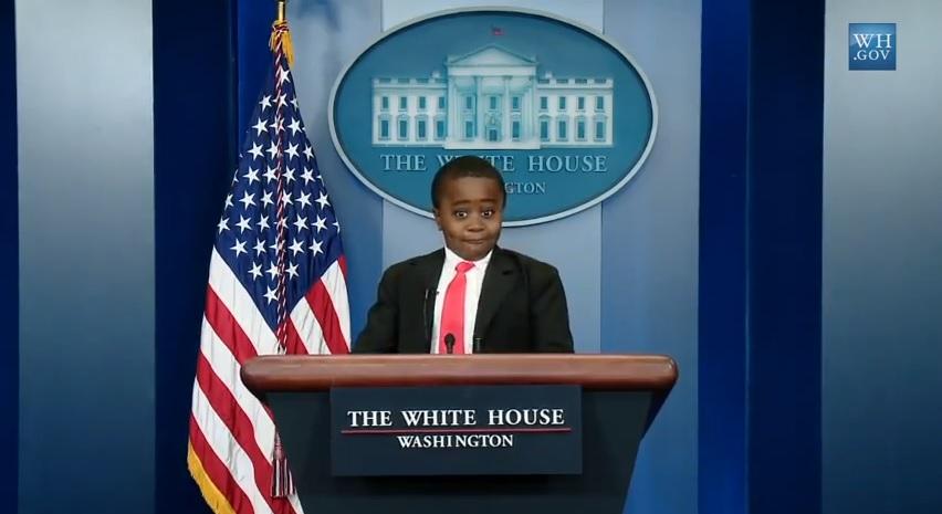Kid President White House