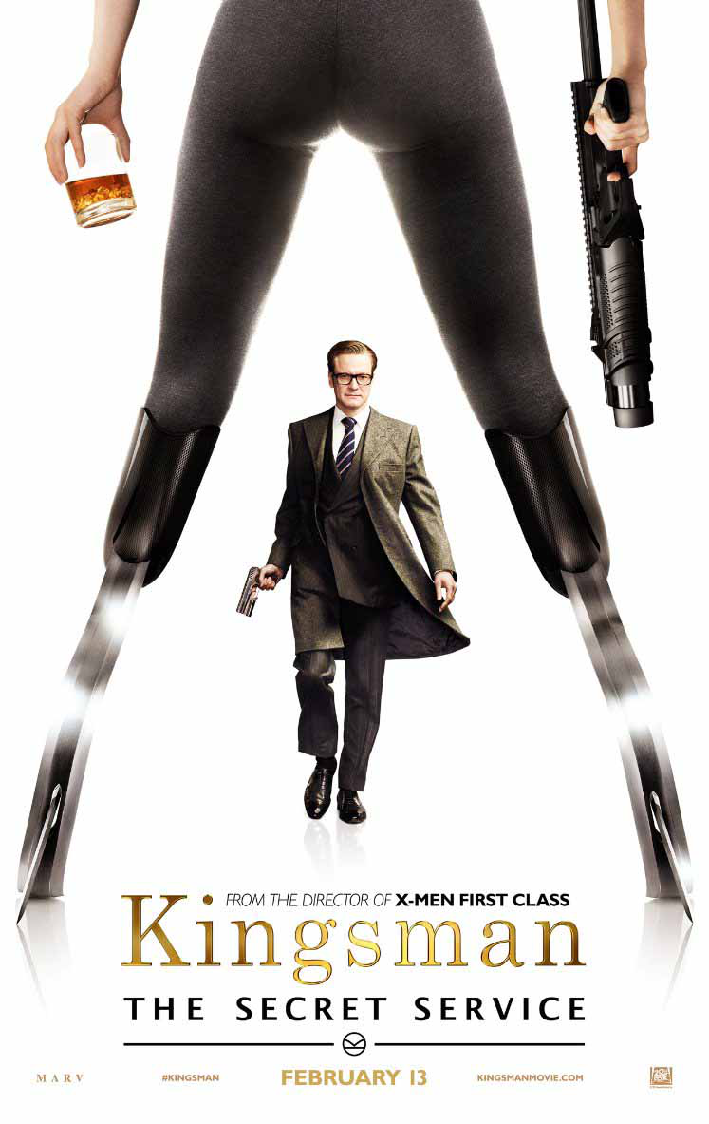 Kingsman: The Secret Service Colin Firth Poster