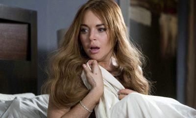 Lindsay Lohan in bed