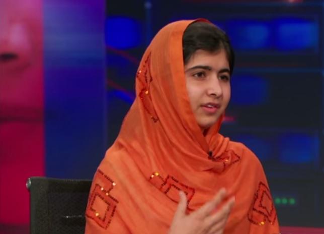 Malala Yousafzai on The Daily Show