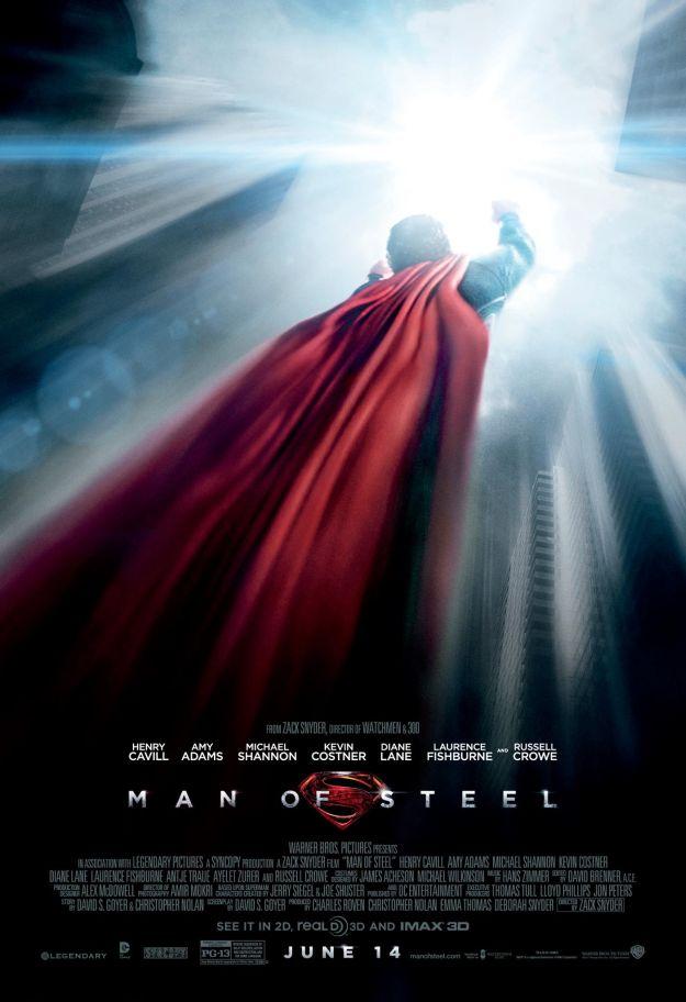 Man of Steel Flight Movie Poster