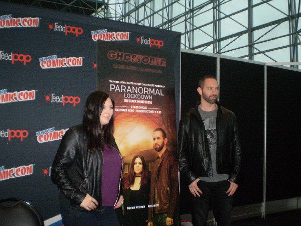 New York Comic-Con 2016 Interview: Nick Groff, Katrina Weidman and Rob Saffi Talk Paranormal Lockdown