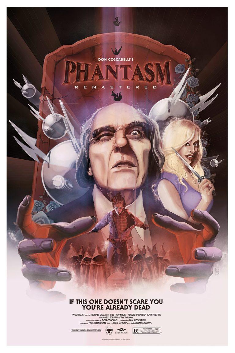 Phantasm: Remastered Poster