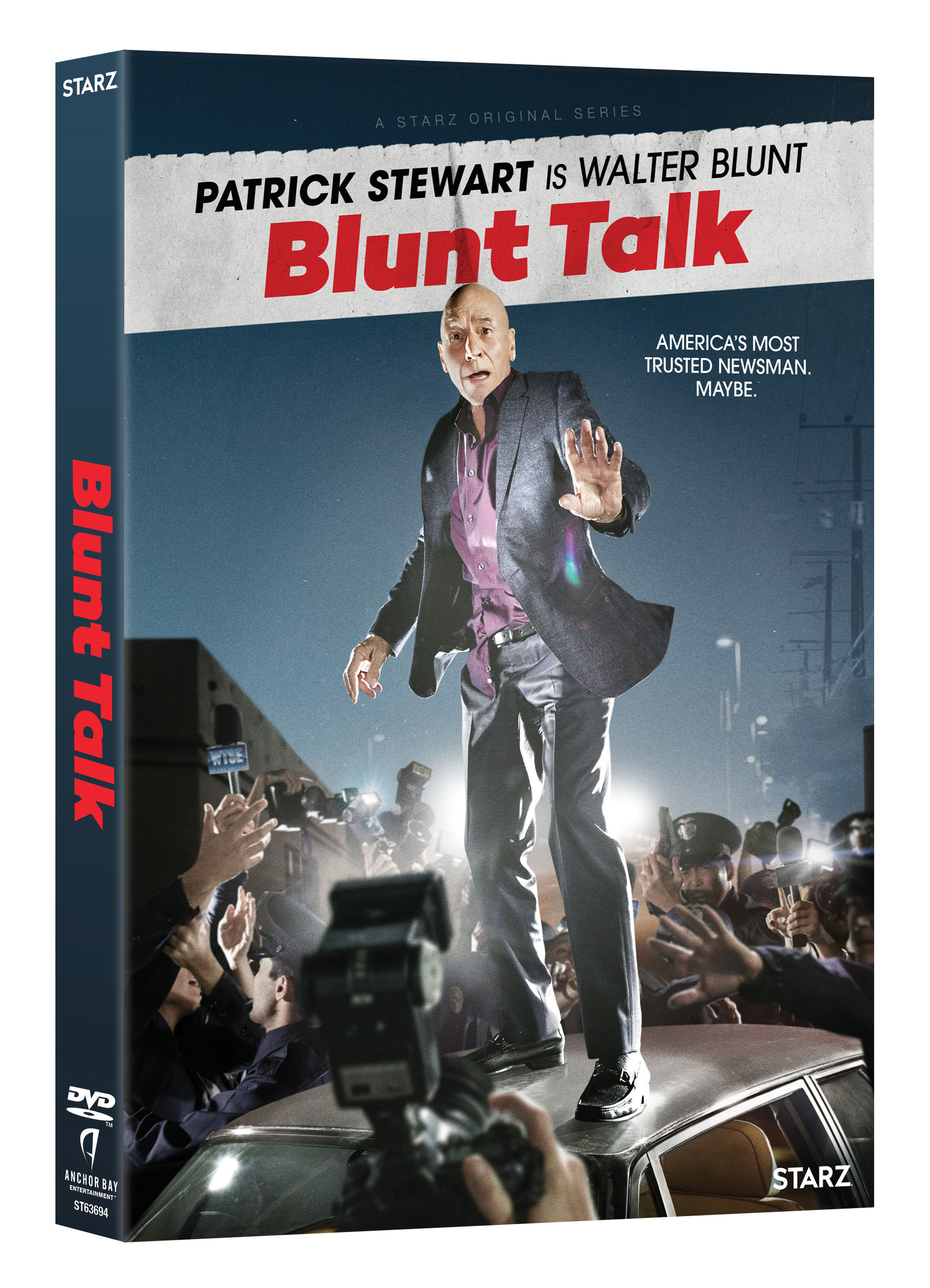 Blunt Talk Season 1 DVD Giveaway Has Patrick Stewart Sharing Wisdom with American Audiences