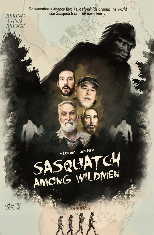 ShockYa's Exclusive Sasquatch Among Wildmen Trailer Premiere