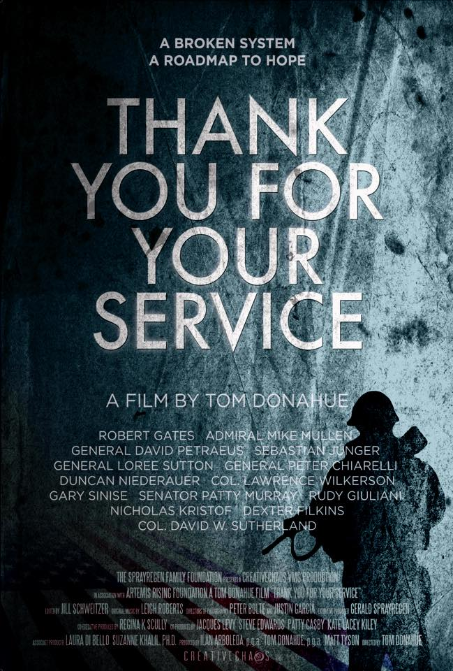 Exclusive Interview with Tom Donahue - Director of Thank You For Your Service
