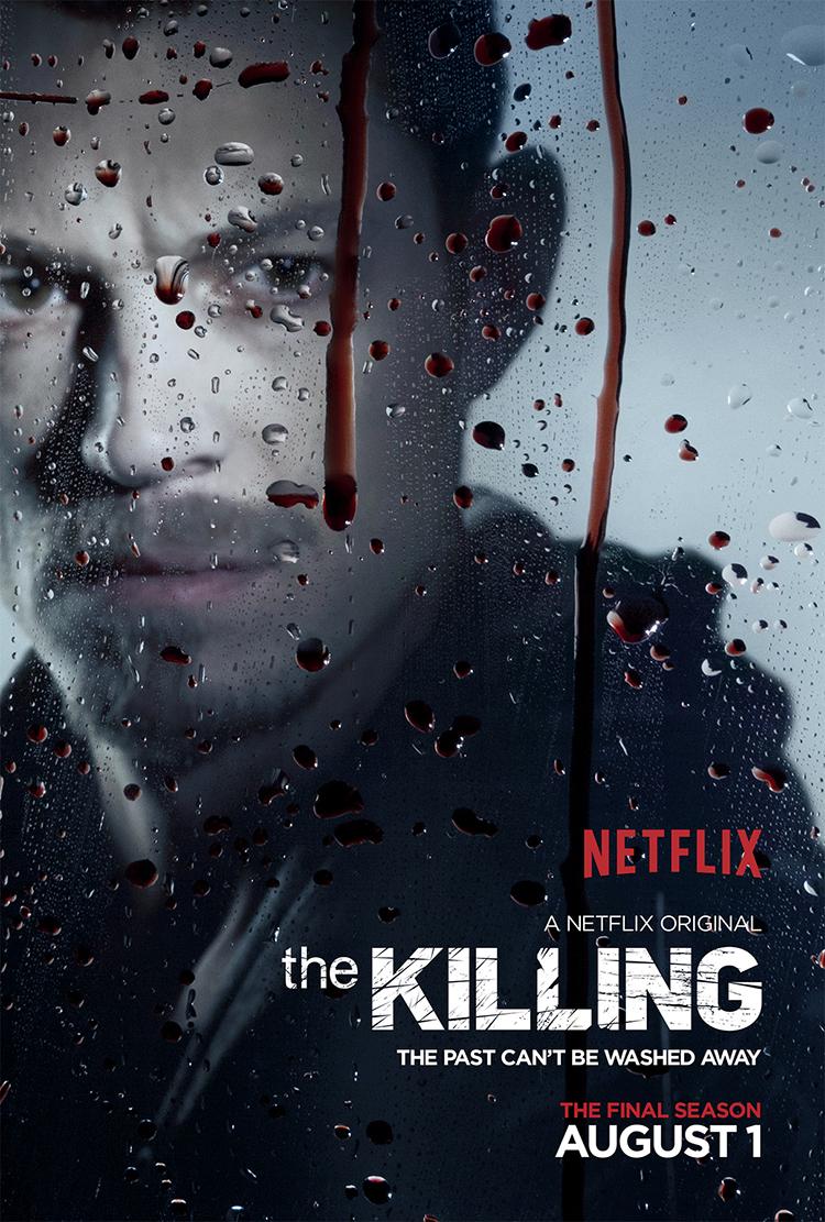 The Killing Season 4 Holder Character Poster