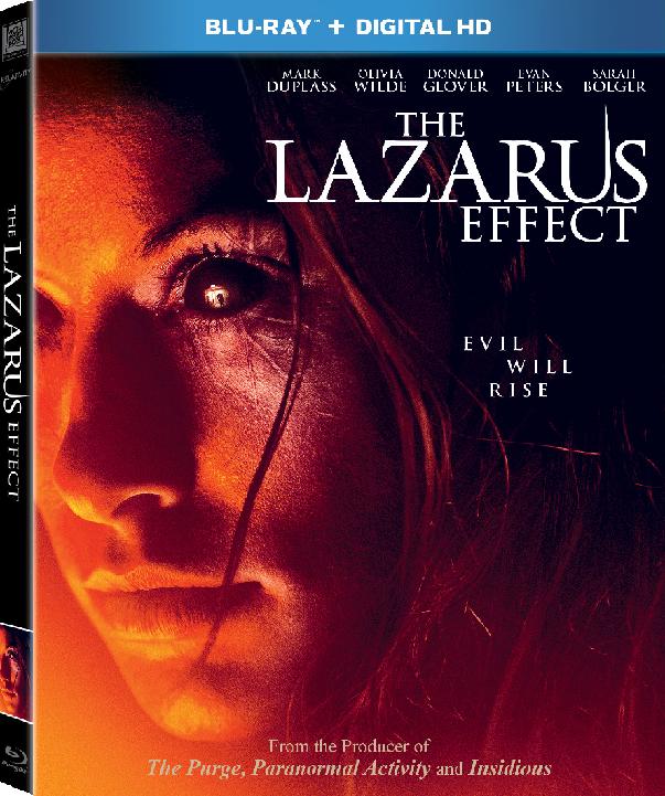 The Lazarus Effect Blu-ray