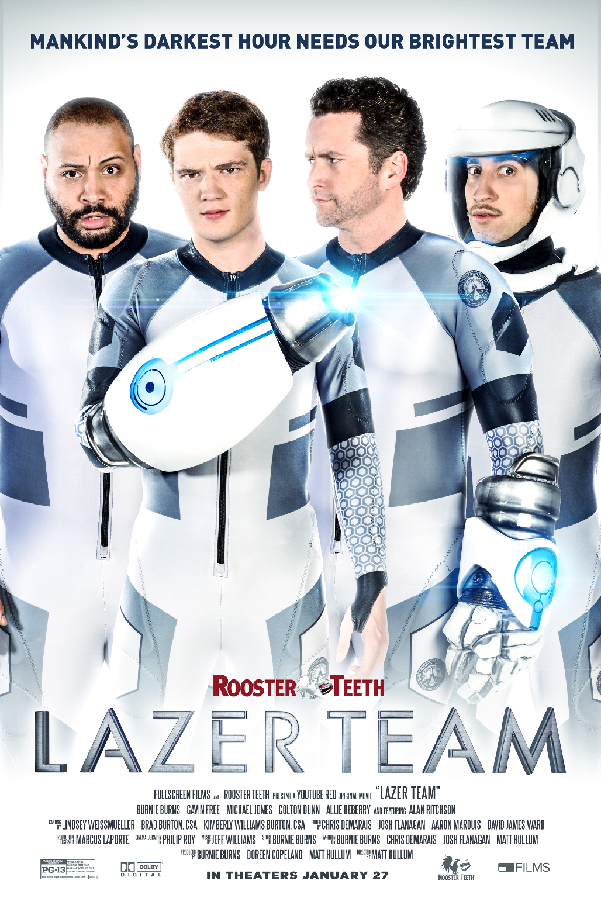 The Lazer Team Is Protecting the World From Aliens In Official Trailer and Poster