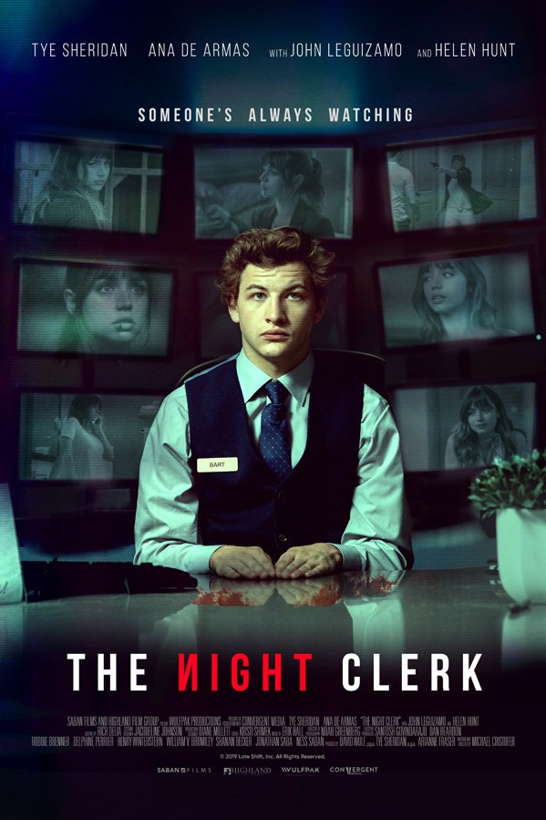 'The Night Clerk' Official Trailer
