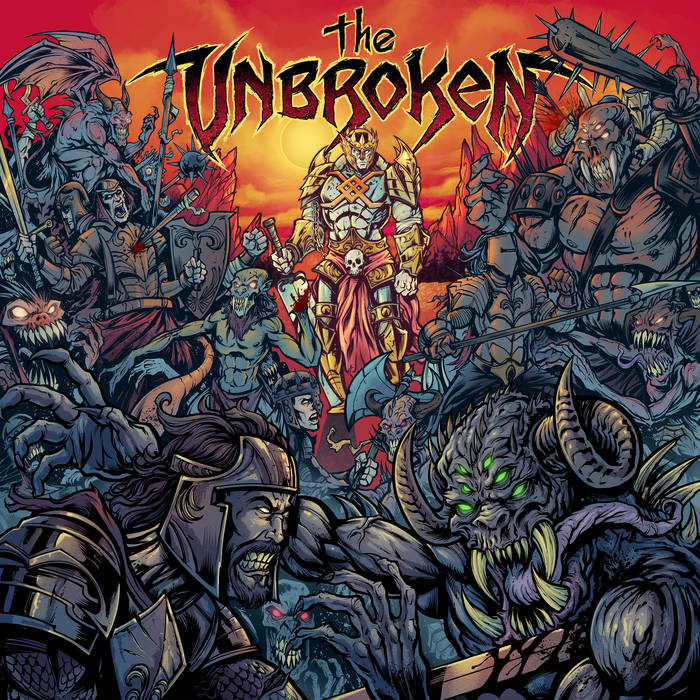 The Unbroken's Human Crown EP Cover
