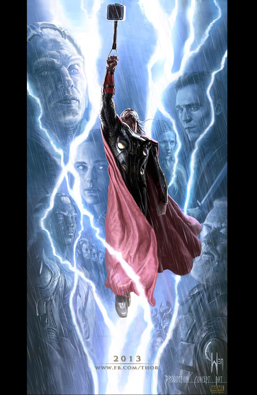 Thor The Dark World Concept Poster