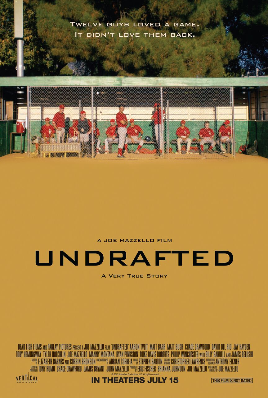 Undrafted's New Trailer and Poster Show Aaron Tveit Fighting an Uncertain Future