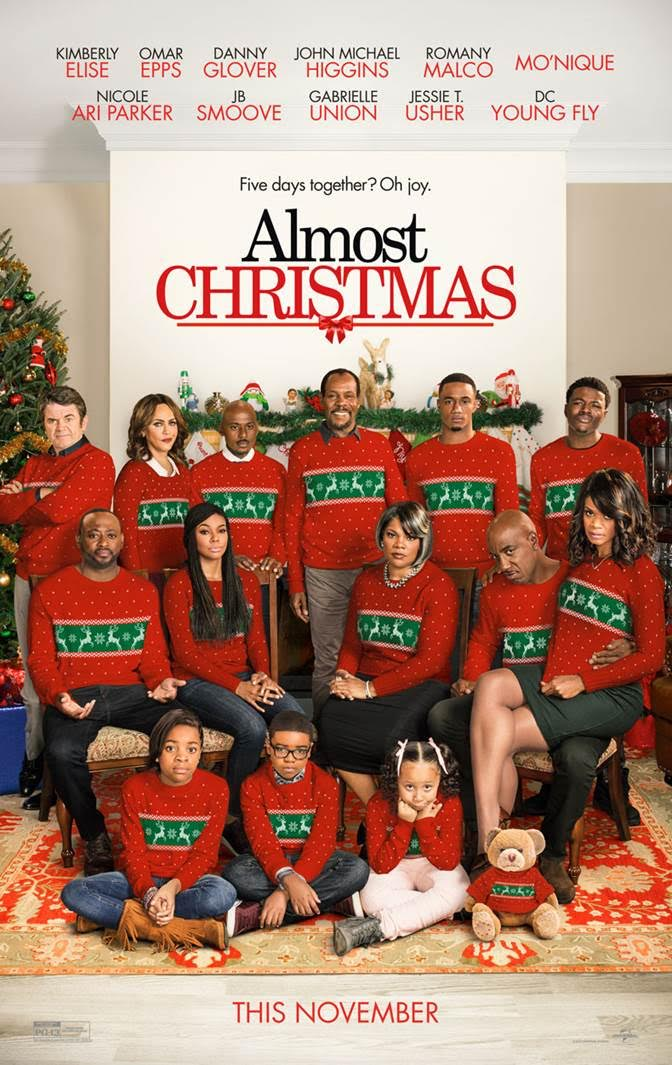 Unwrap New Poster for Omar Epps Comedy Almost Christmas