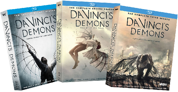 Watch the Renaissance Man Protect the Crusade in Da Vinci's Demons' Blu-ray Prize Pack Giveaway