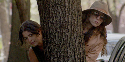 Alia Shawkat and Sophia Takal in Wild Canaries