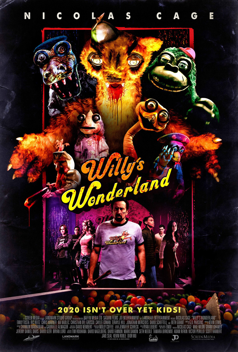 'Willy's Wonderland' Official Trailer