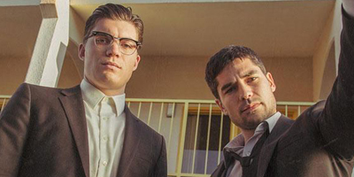 Zane Holtz and DJ Cotrona in From Dusk Till Dawn