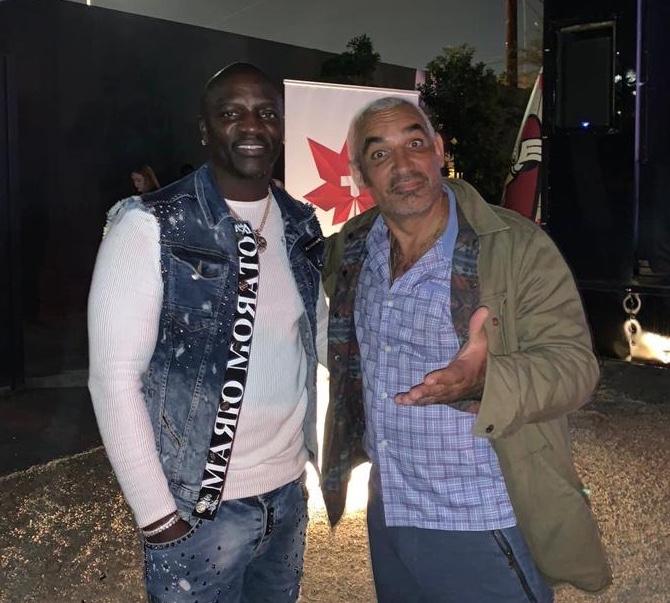 Akon and Alki David