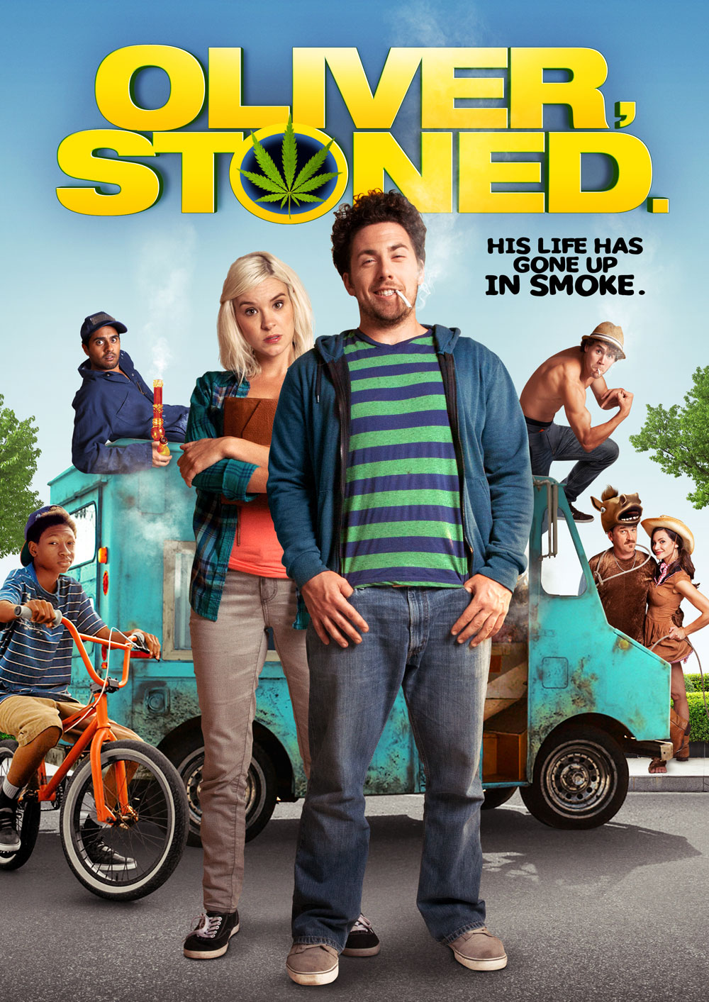 Oliver Stoned DVD cover