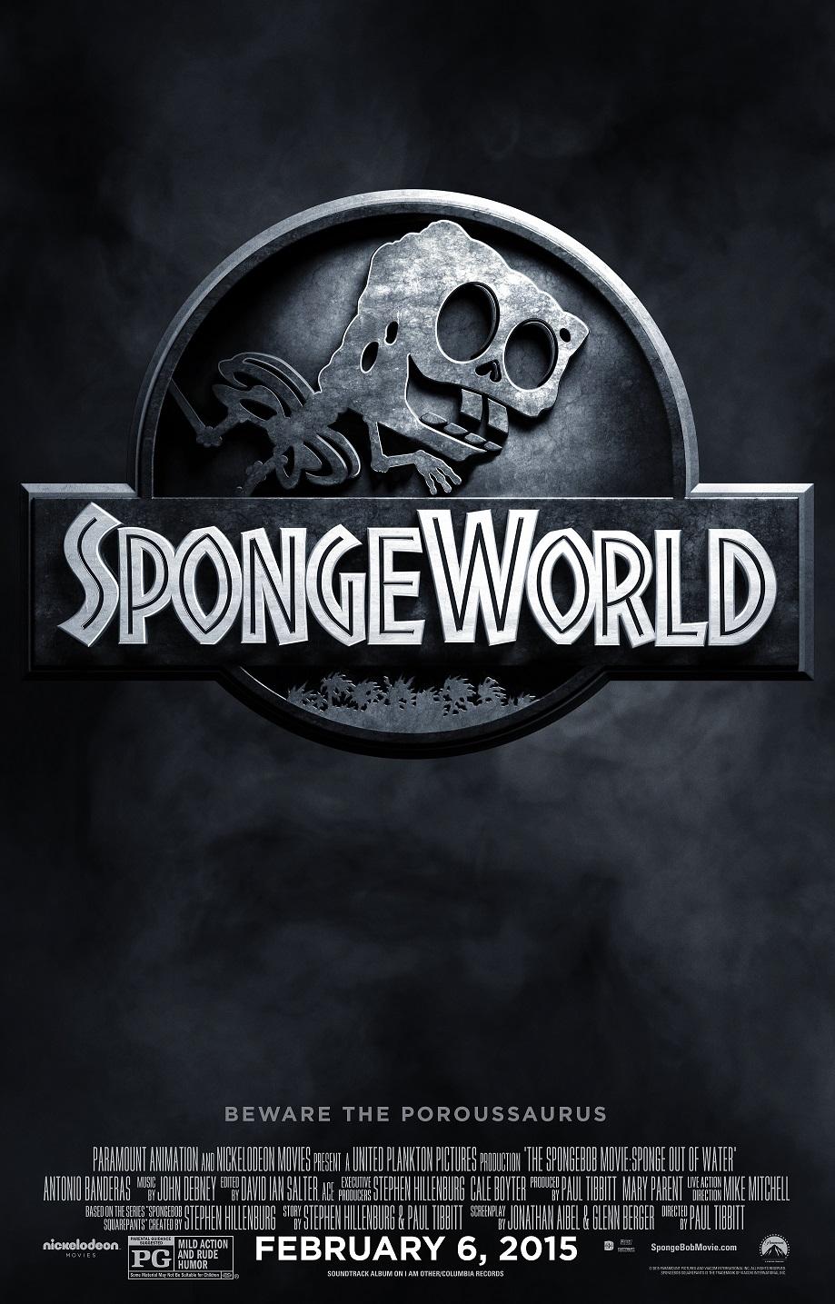 SpongeBob Jurassic World