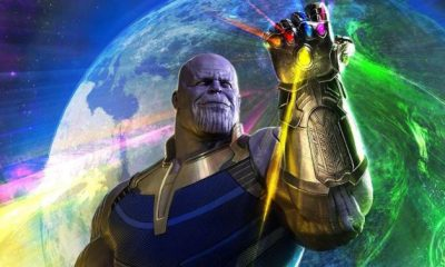 Thanos from Avengers: Infinity War